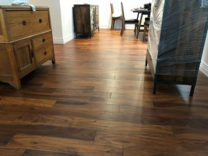 Engineered hardwood flooring has grown in popularity due to its stylistic choices and durability.