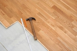 Flower Mound Hardwood Floor Installation
