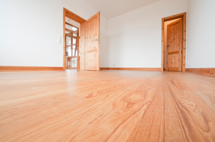 Cleaning Hardwood Floor