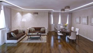 Laminate flooring is a popular choice for flooring renovations today.