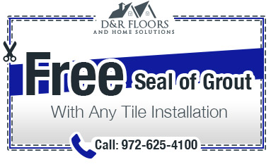 Free seal grout