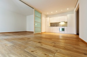 The Colony Hardwood Floor Installation